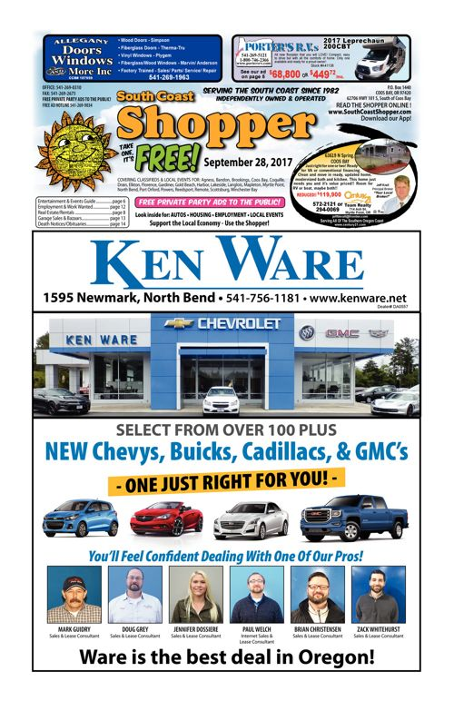 South Coast Shopper e-Edition 9-28-17