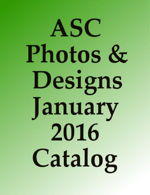 January 2016 catalog