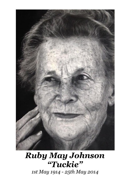4 Order of Service for Ruby May Johnson