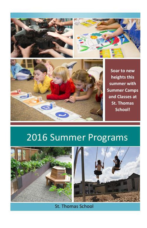 2016 Summer Camps at STS