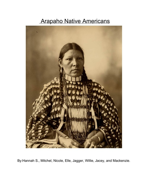 The Arapaho Native Americans