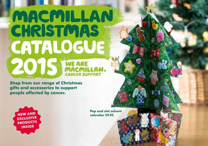 Macmillan Christmas Catalogue 2015