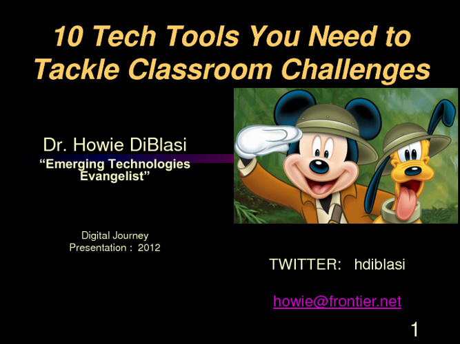 10 Tech Tools for the Classroom