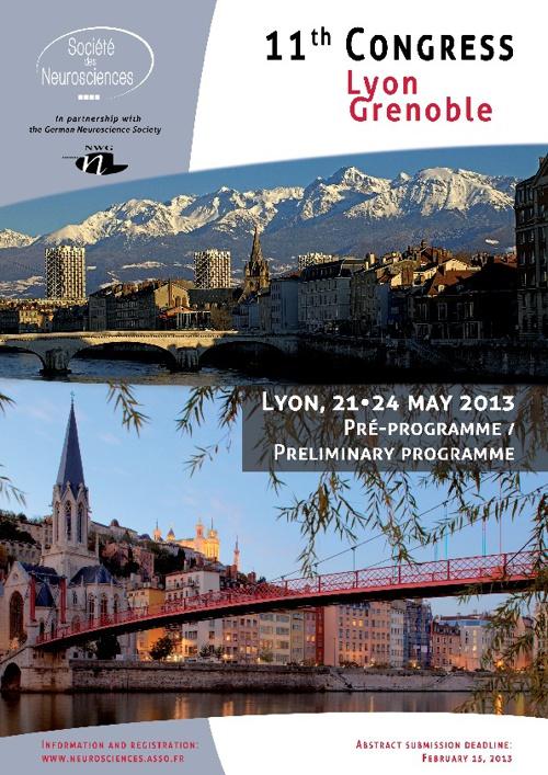 Pré-programme SN 2013