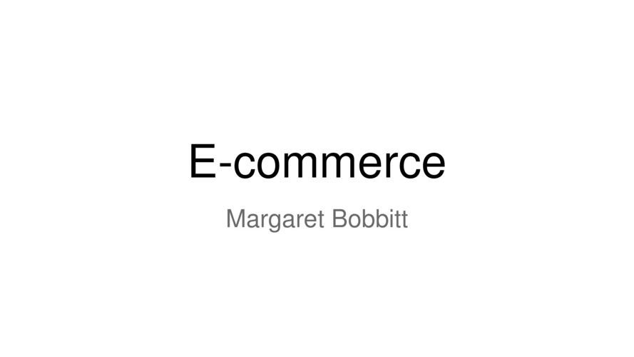 E-commerce PowerPoint
