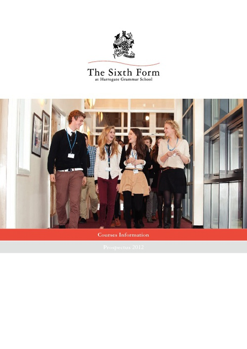 The Sixth Form at Harrogate Grammar School