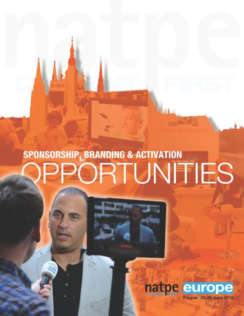 NATPE|Europe 2015 Sponsorship, Branding and Activation Opportuni