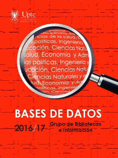 Catalogo Bases de Datos UPTC
