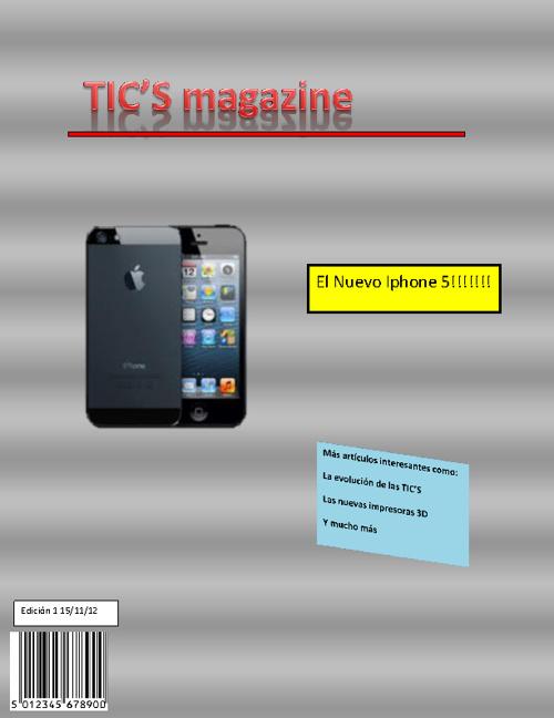"""Revista""""Tic's Magazine"""""""