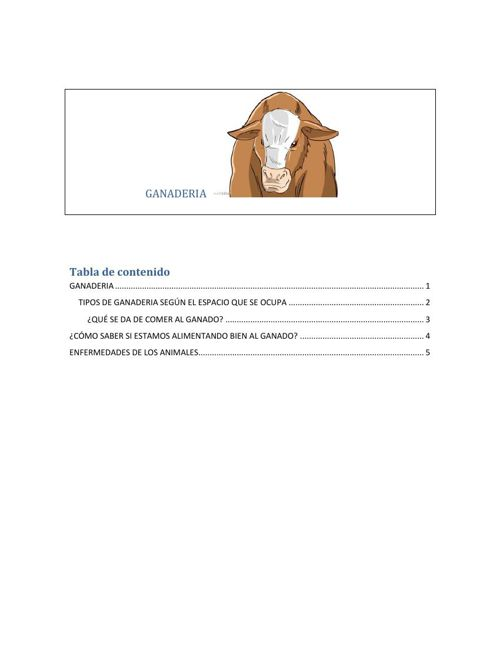 GANADERIA RETO 3 y reto 8