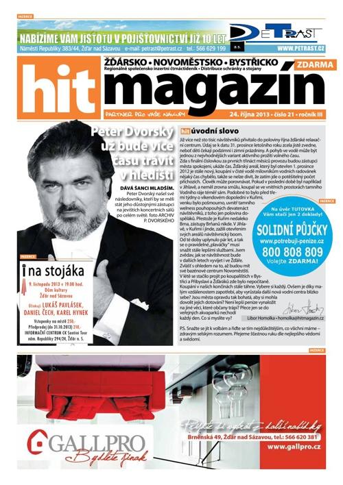 Hit magazín č.21 2013