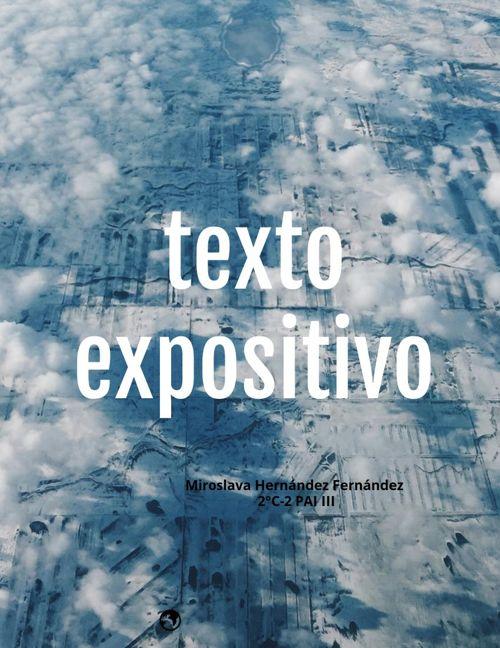 9) Miroslava Hernández Fernández 2°C-2 texto expositivo