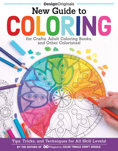 New Guide to Coloring for Crafts, Adult Coloring Books...