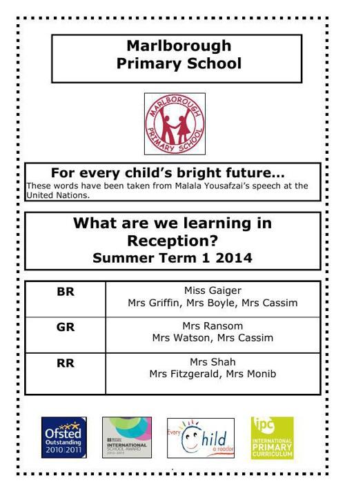 Rec_curriculum_leaflet_Summer 1