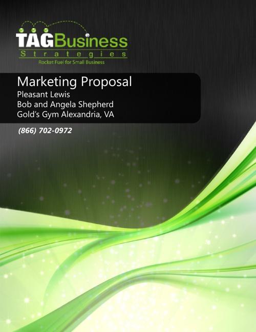 Gold's Gym Alexandria Marketing Proposal_Shepherd