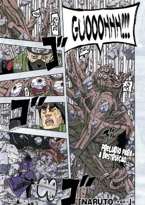 Mangá - Naruto Shippuuden 595