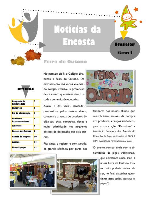 Newsletter Nº2 - Notícias da Encosta