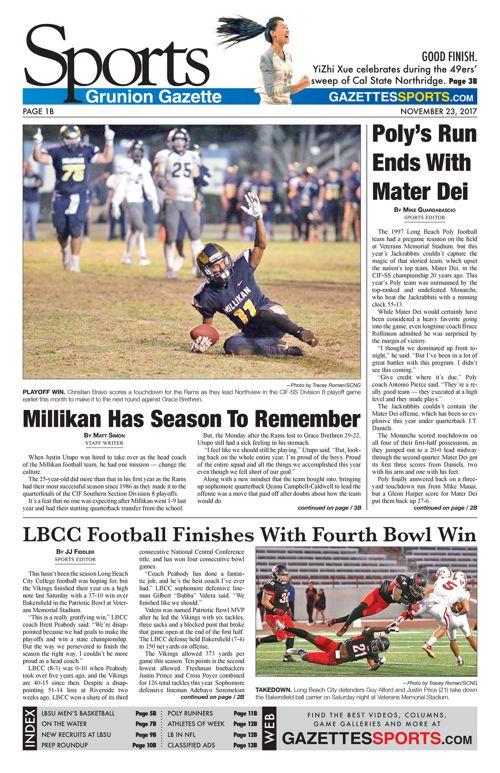 Gazette Sports 11-23-17