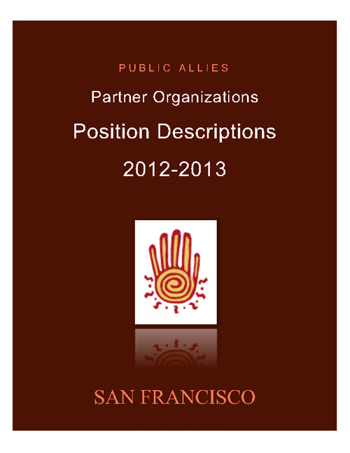 San Francisco Ally Positions 2012-2013