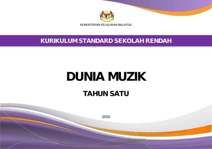 DOC. STD. DUNIA MUZIK TAHUN 1 ( UNTUK BURN CD 7 OKT 2010