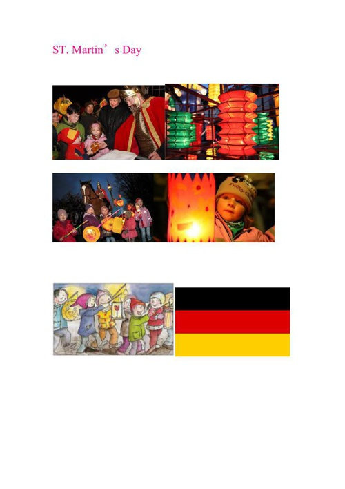 Germany Festivals - Chinese