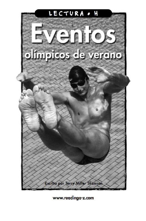 Eventos olímpicos de verano