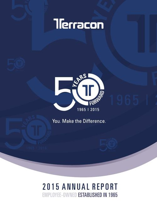 Terracon's 2015 Annual Report