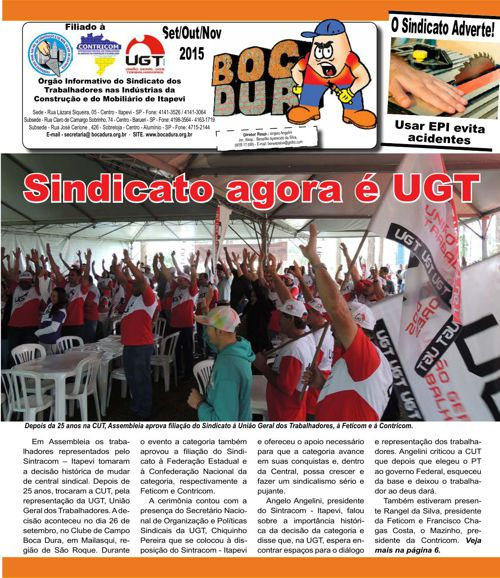 Jornal Bocadura - Set/Out/Nov - 2015
