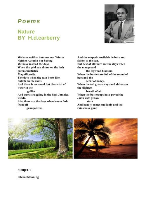 Form 5 Poem