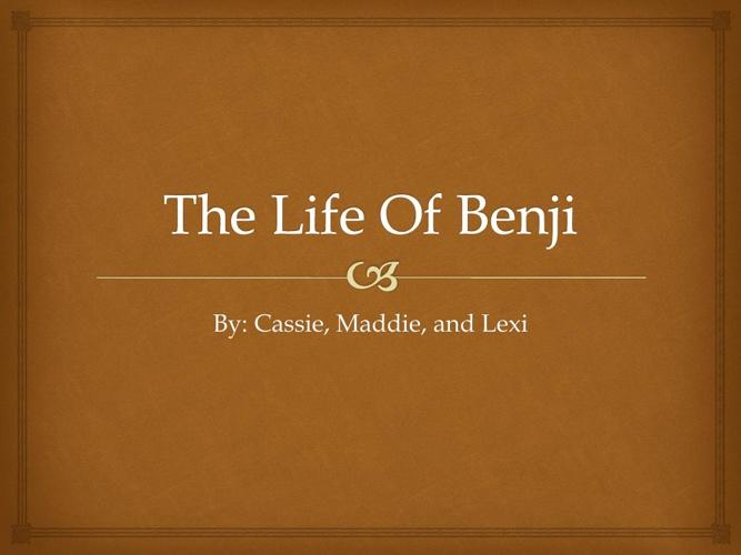 The Life of Benji