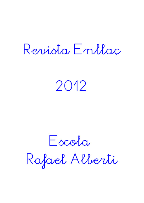 Revista Enllaç 2012