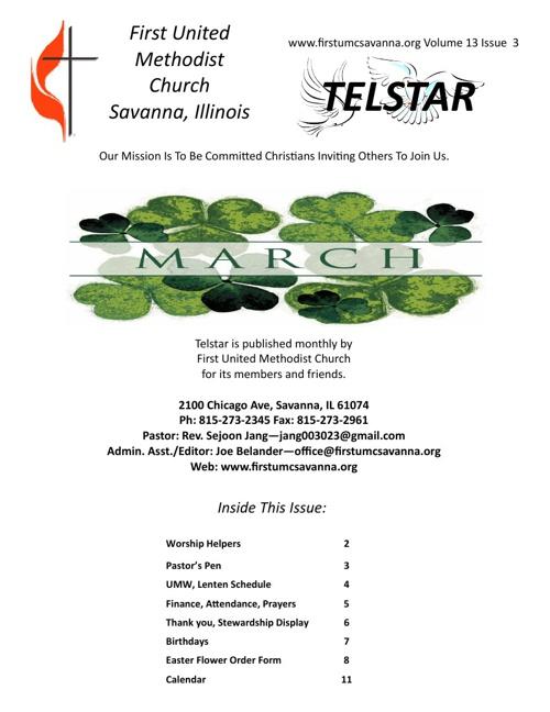 March Telstar