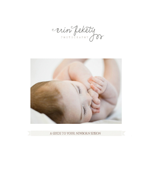 Guide to Planning Your Newborn Session