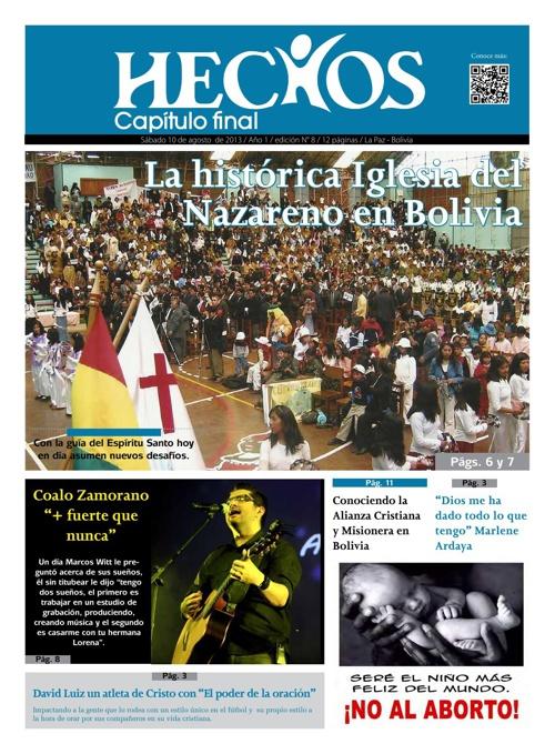 Periodico Hechos Nro. 8