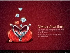 Diwan Jewels E-catalog earings. (NET COLLECTION)