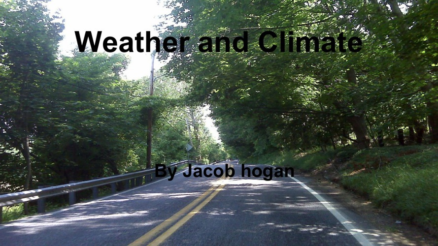 Jacobs Weather and Climate