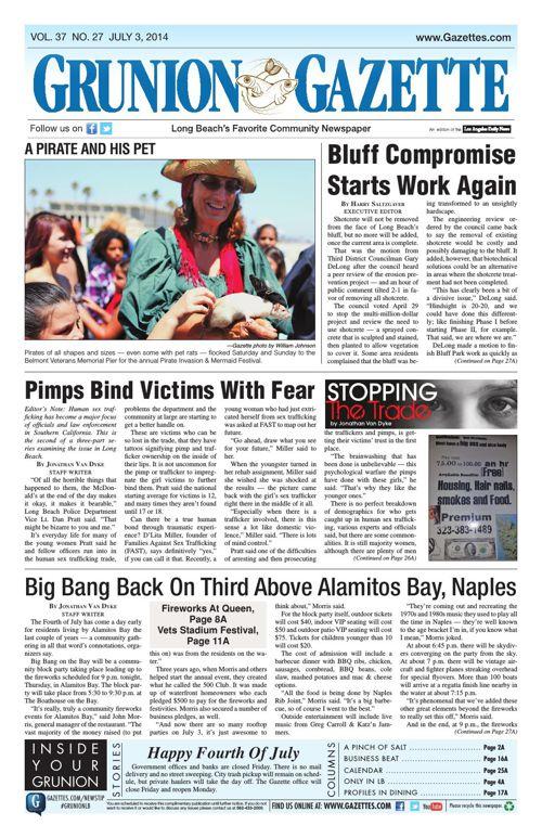 Grunion Gazette | July 3, 2014