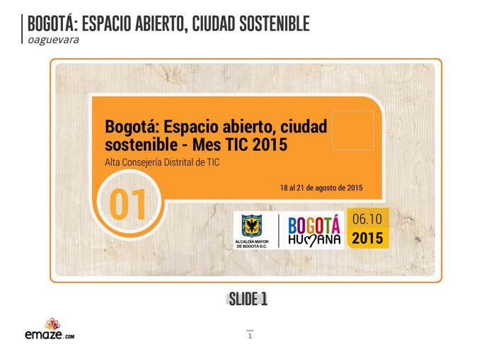 Bogotá Espacio abierto, ciudad sostenible (1)