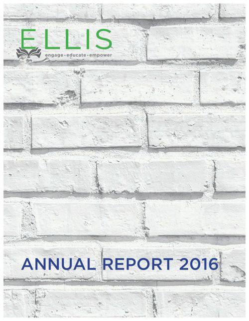 2016 Ellis Annual Report