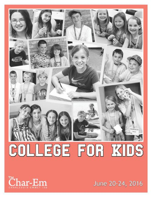 College for Kids 2016