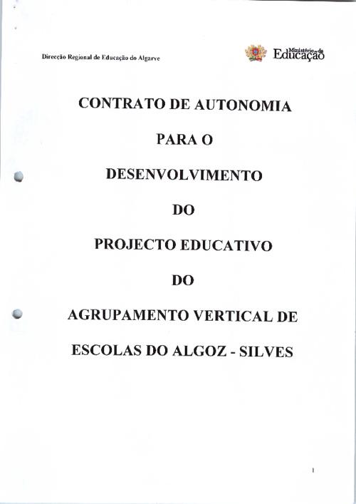 Contrato de Autonomia 2007-2011/2012