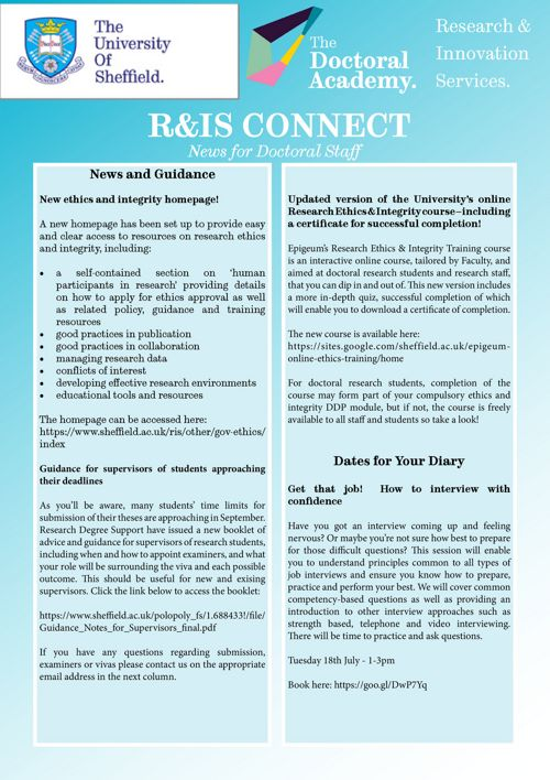 R&IS Connect July 2017
