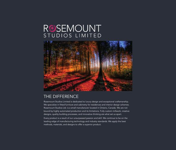 Rosemount Studios Limit Catalog