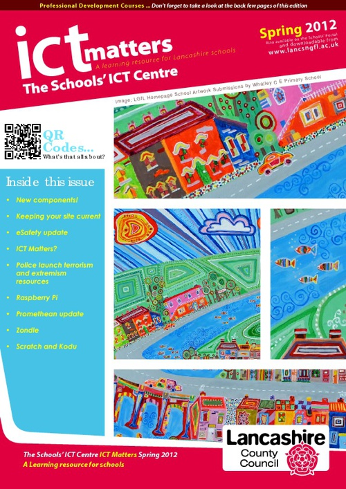 ICT Matters Spring 2012