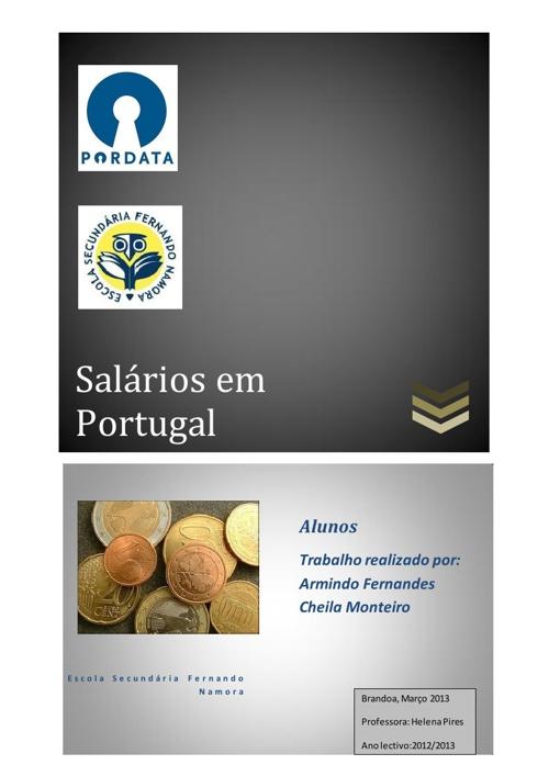 Salários em Portugal