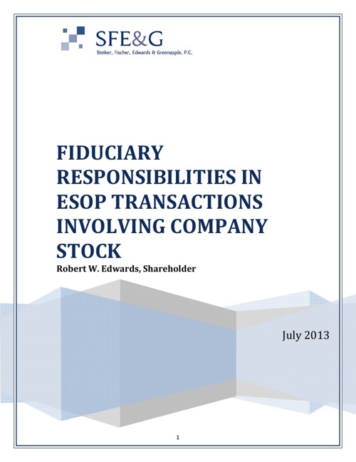 Fiduciary Responsibilities in ESOP Transactions