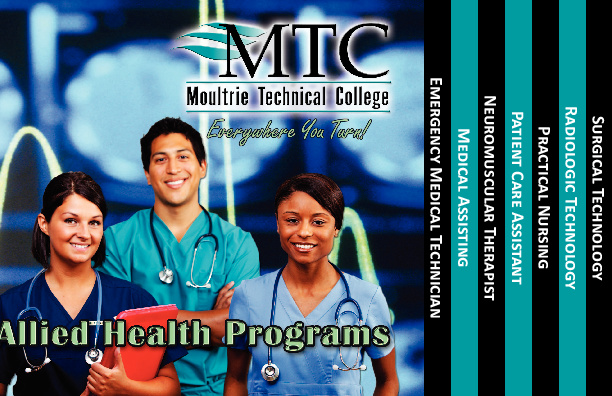 MTC Allied Health brochure