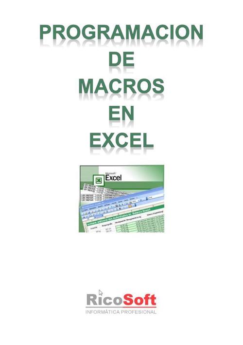 Curso de Programación de Macros en Excel RicoSoft