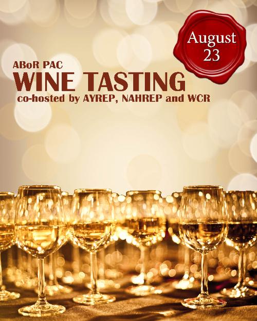 ABoR PAC Wine Tasting