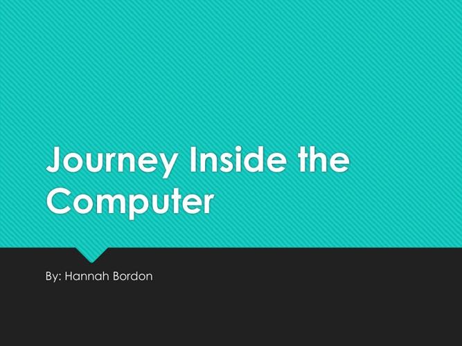 Hannah Bordon Computer Flip Book